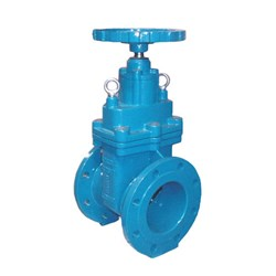 CAST IRON GATE VALVE - Non Rising Stem, Flanged Table D, Resilient Seat