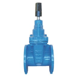 CAST IRON SLUICE VALVE - Flanged Table C, Counter Clockwise Close