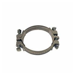 CAST STEEL HOSE CLAMP - Double Bolt