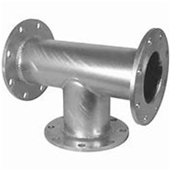 GBWP FLANGED BR TEE Fixed Flanges