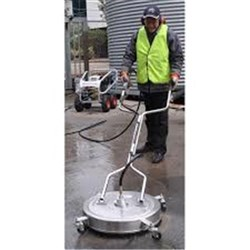 FLAT SURFACE CLEANER 22 inch, 4000 PSI, +80 c temp, cleaning speed 25 sq m/min