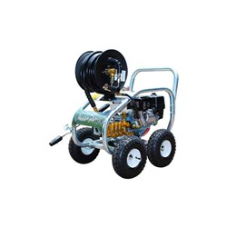 SCUD AB30 COMMERCIAL BLASTER, 10 LPM x 3000 PSI, stainless steel & hose reel