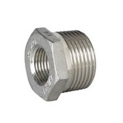 316 STAINLESS STEEL REDUCING BUSH - BSPT male x BSP female