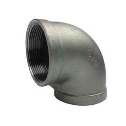 316 STAINLESS STEEL 90 ELBOW - BSP female