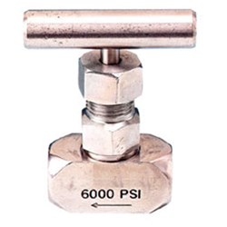 STAINLESS STEEL 316 NEEDLE VALVE x High Pressure, T Handle x BSP Female