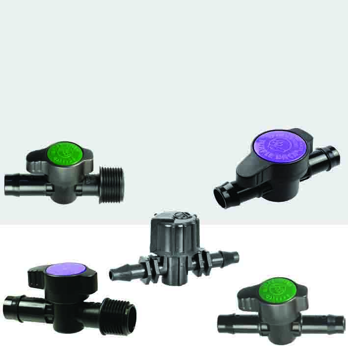 Barbed LDPE Valves